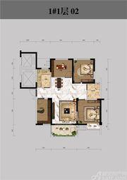 恒馨印象1#1层023室2厅106.51㎡