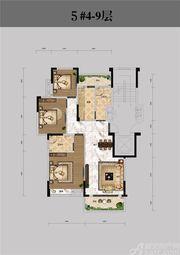 恒馨印象5#4-9层3室2厅113.18㎡