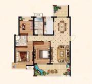 时代名门E33室2厅127.17㎡