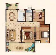 时代名门E23室2厅112.75㎡