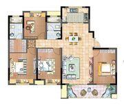 国投皖投·天下名筑D-140户型4室2厅140㎡