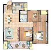 国投皖投·天下名筑A-98户型3室2厅98㎡