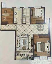 御溪国际110户型3室2厅111.28㎡