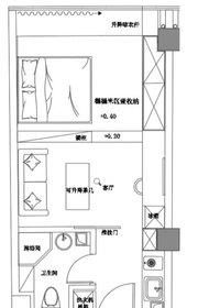 京徽·翡翠滨江45平1室1厅45㎡