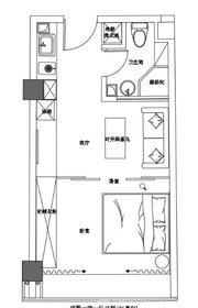 京徽·翡翠滨江45平江景房1室1厅45㎡