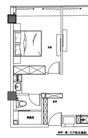 京徽·翡翠滨江90平江景房1室1厅90㎡