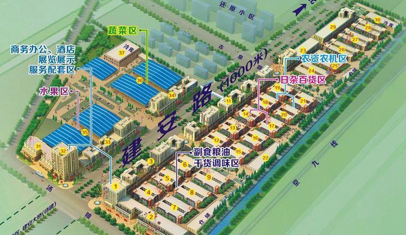 新农亳州农贸城