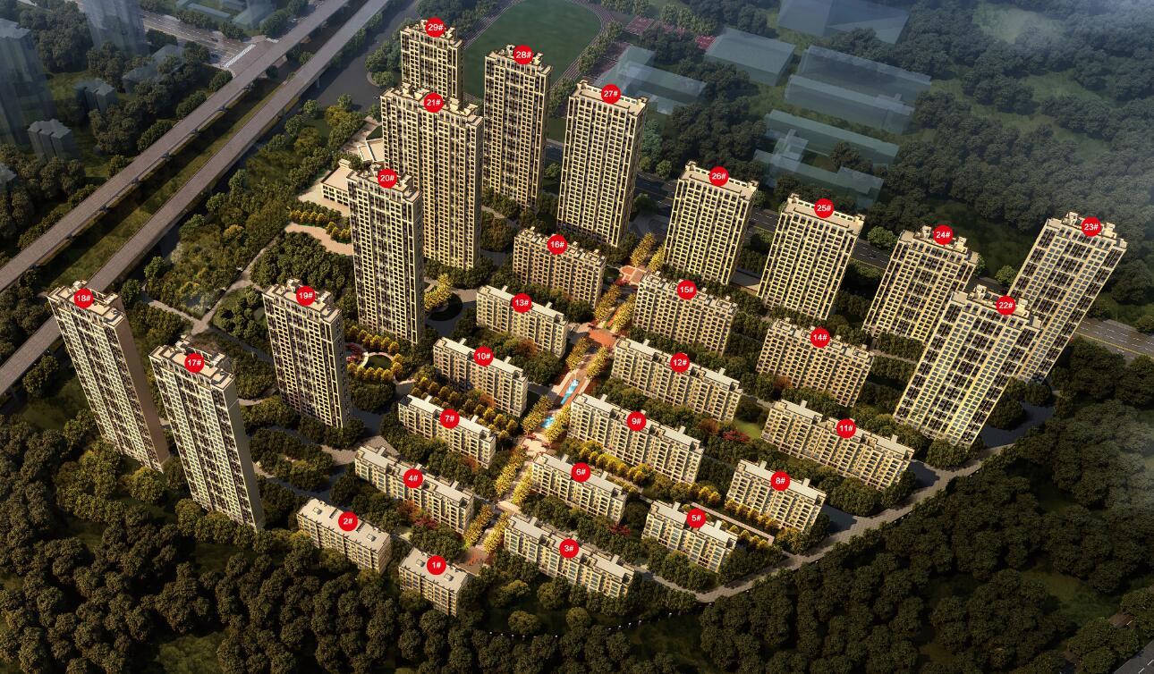 中梁江城1621