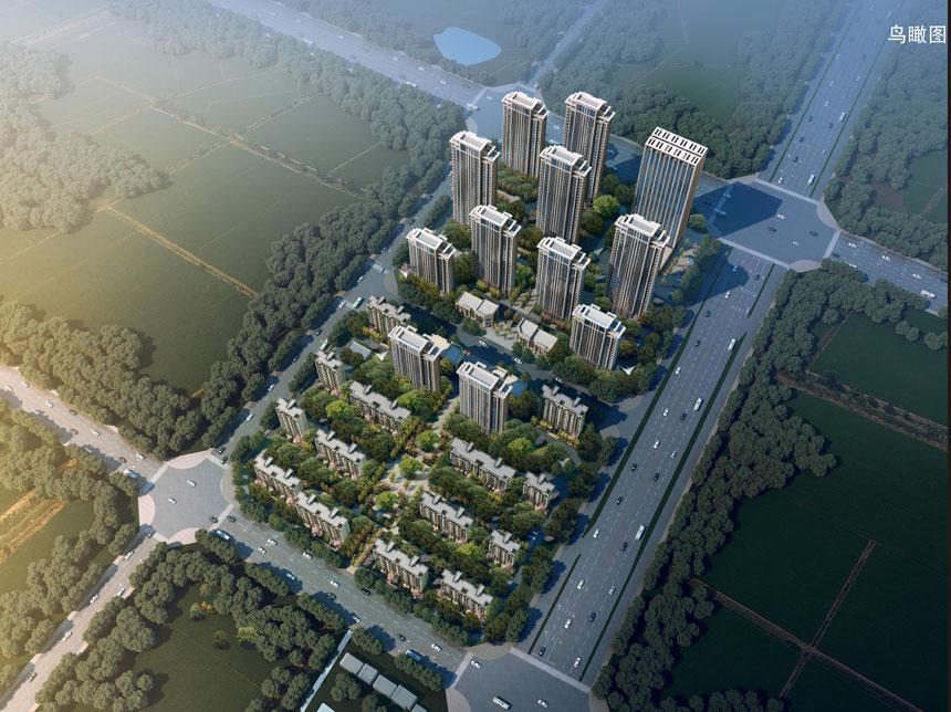 东方樾府八月份项目进度:一期项目已成准现房!