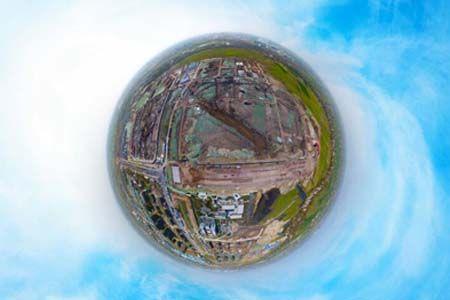 新滨湖孔雀城航拍看房