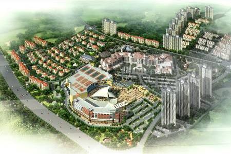 碧桂园滨湖城效果图