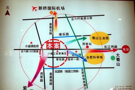 建邦皇嘉锦苑交通图