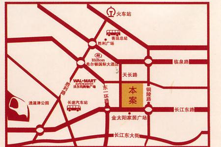 iCAR汽车生活综合体交通图