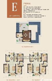 丽景花园城丽景花园城户型图E3室2厅111.46㎡