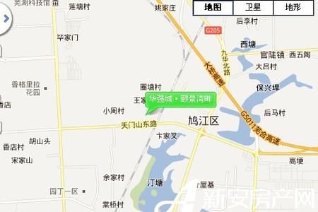 华强城颐景湾畔交通图