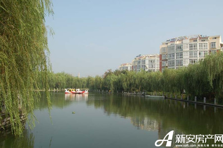 港利锦绣江南实景图