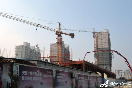 天巢广场工程进度