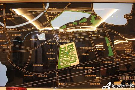 高速秋浦天地交通图