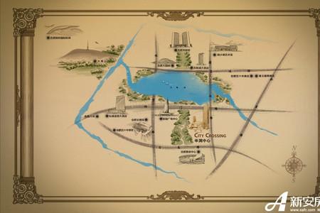 华润中心凯旋门交通图