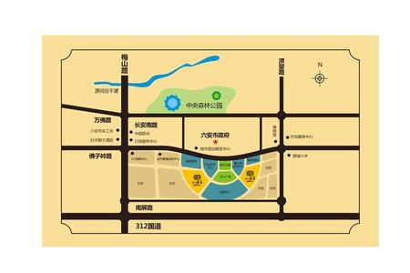 和顺沁园春交通图