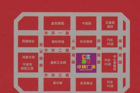 星悦城交通图