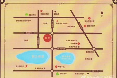 星洲国际城交通图