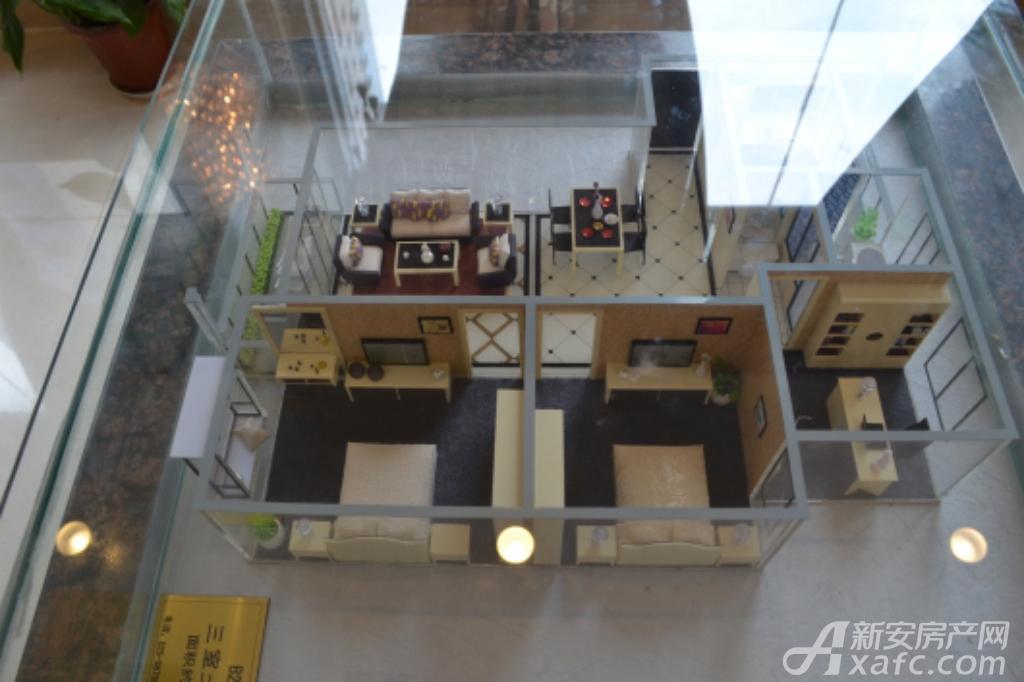通成紫都通成紫都二期华苑户型样品展示3室2厅111.68平米