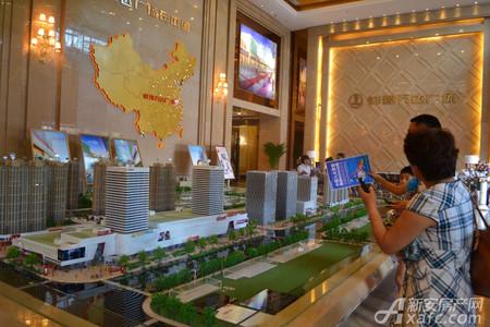 蚌埠万达广场实景图