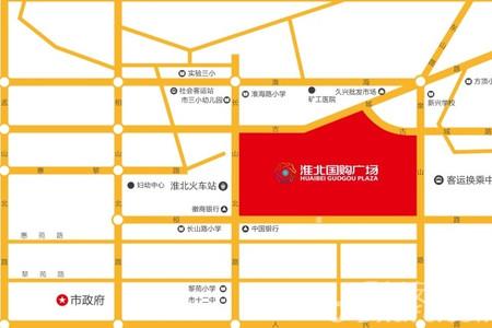 国购广场私寓交通图