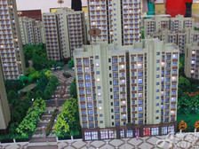 星洲国际城9·15认筹:3#楼沙盘图。
