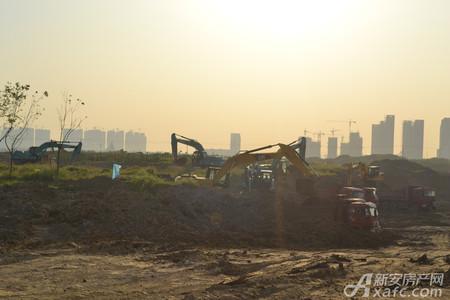合肥融创文旅城•融园工程进度