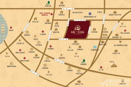 安粮兰桂花园交通图