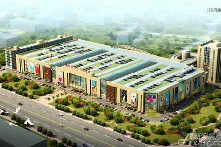 滁州创达义乌商贸城效果图