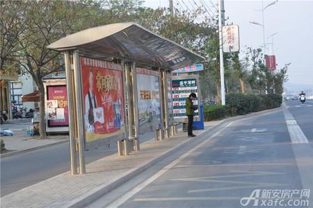 盛宇湖畔交通图