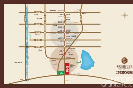 天杰帝景交通图