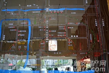 恒生阳光城交通图