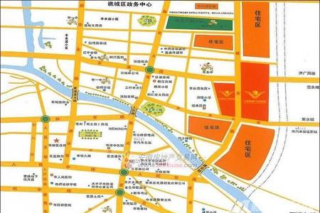 新农亳州农贸城交通图