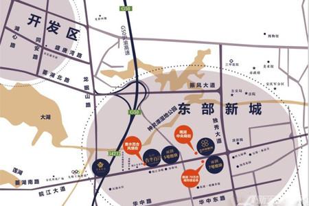 雨润望座国际广场交通图