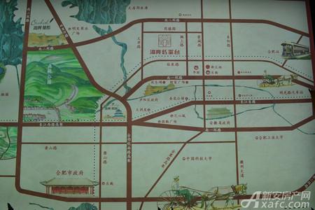 海亮红玺台交通图
