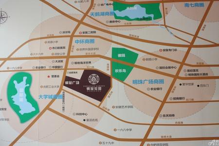 铜冠花园交通图