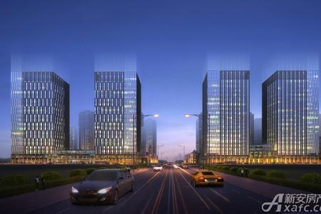 高速中央广场效果图