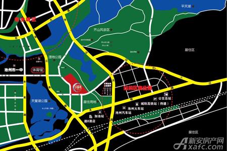月亮湾交通图