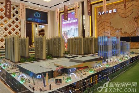 亳州万达广场实景图
