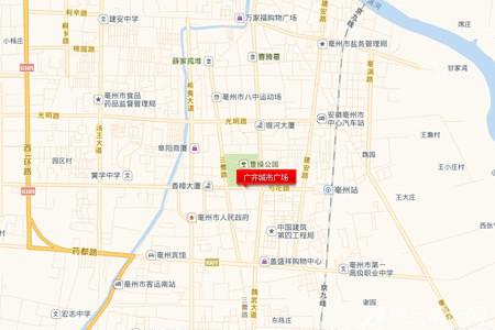广齐城市广场交通图