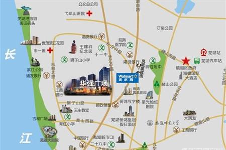 华强广场交通图
