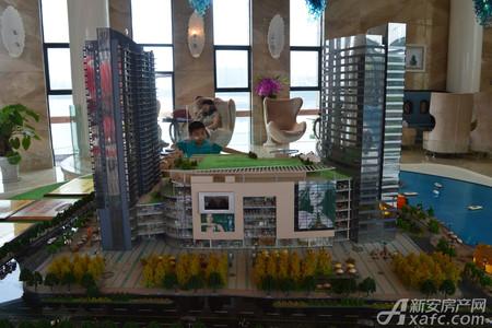 汇峰广场实景图