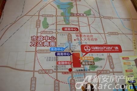 万达中央华城交通图