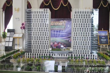高速中央广场实景图