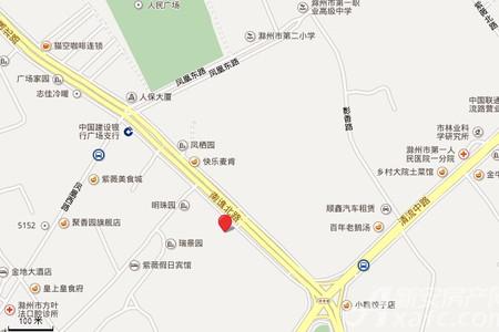 丰乐明珠国际交通图