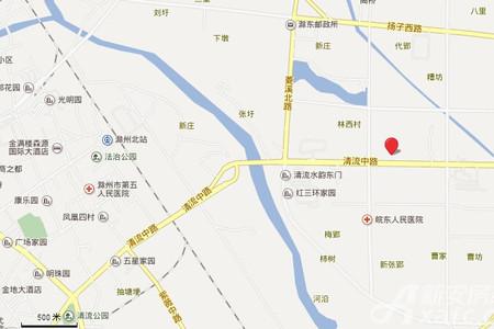 大唐菱湖御庭交通图